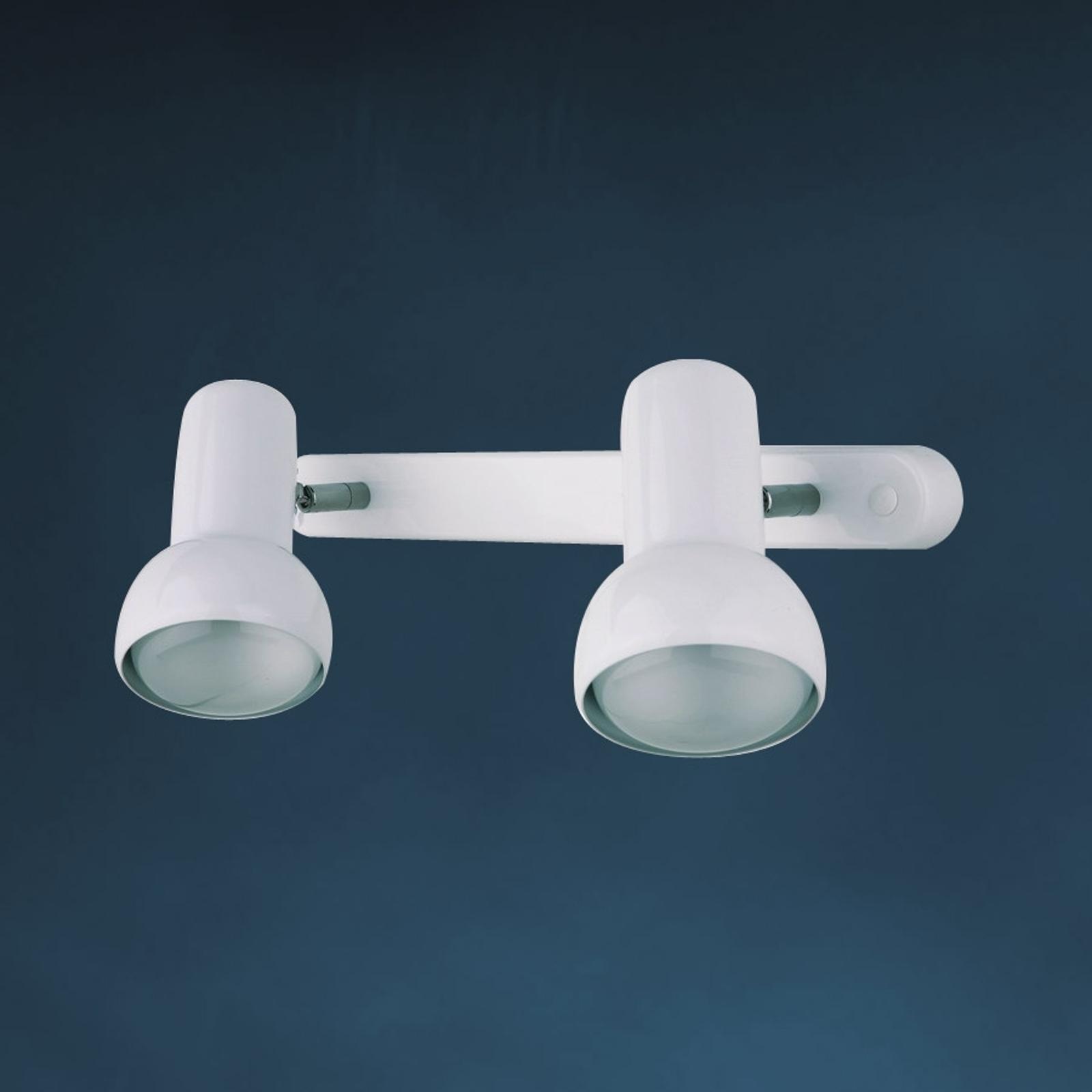 Wandlamp EIFEL in retrodesign 2-lichts