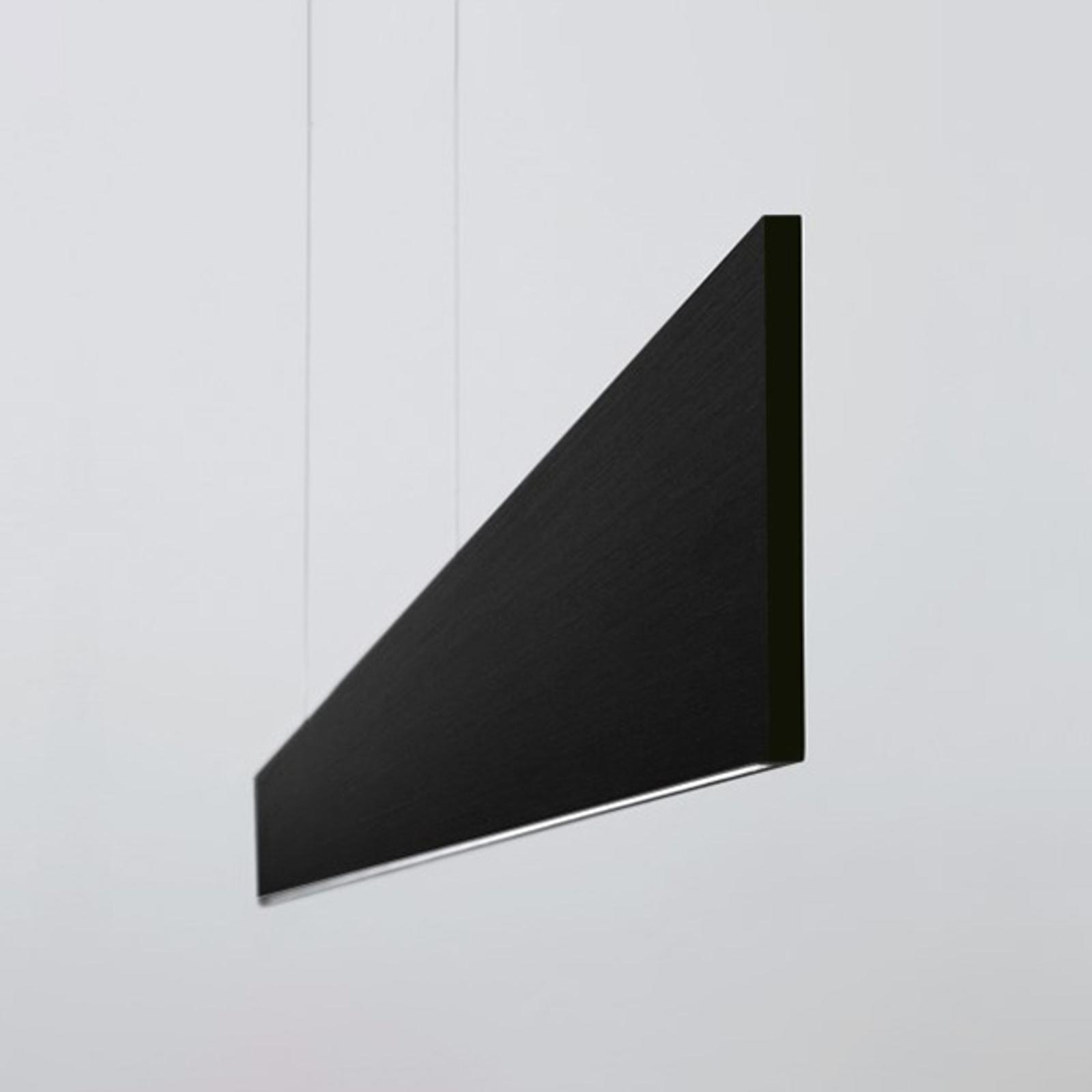 Suspension LED After 8 122cm 1-10V 3000K noire
