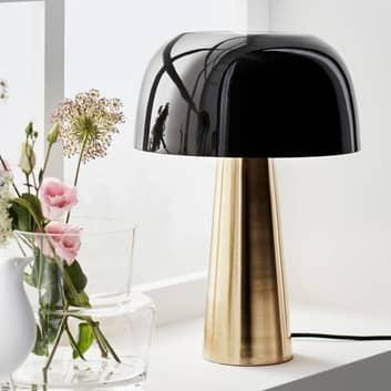 Bordslampa Blanca, brons/svart