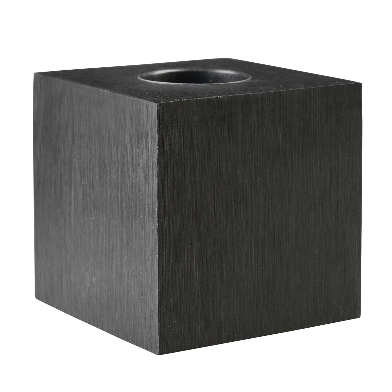 Tischleuchte Cubic, schwarz