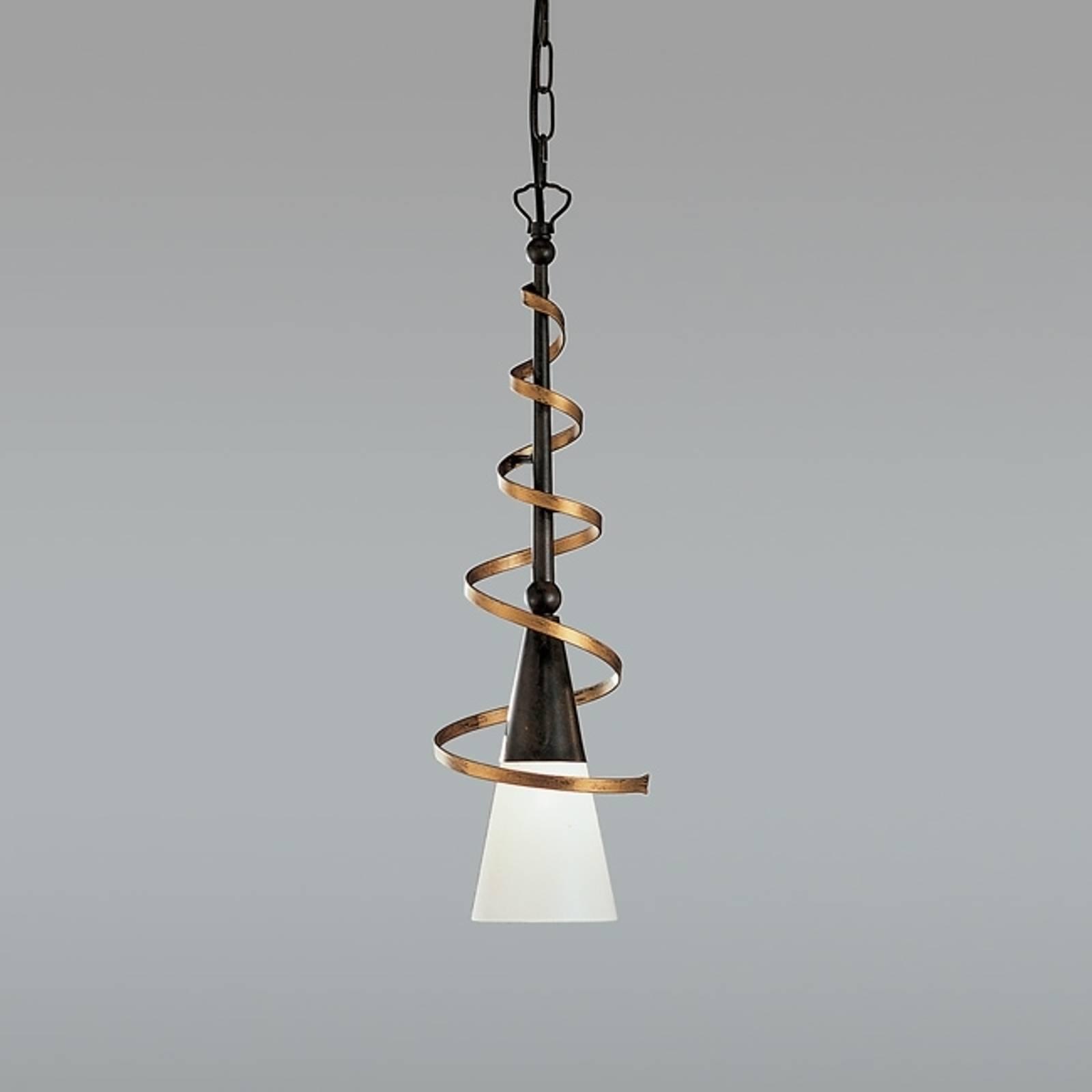 Lampa wisząca BONITO, rdzawy antyk, 50 cm