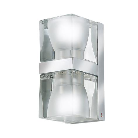 Fabbian Cubetto aplique Up/Down, G9 transparente