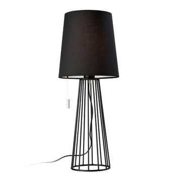 Villeroy & Boch Mailand Tischlampe in Schwarz