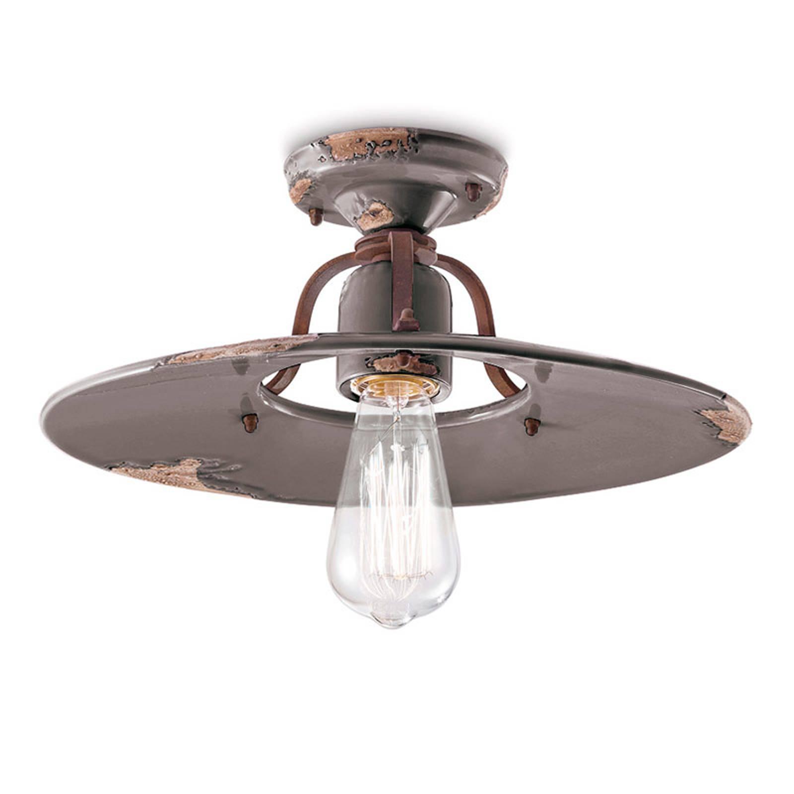 Lampa sufitowa vintage C1445, gołębi, 40cm