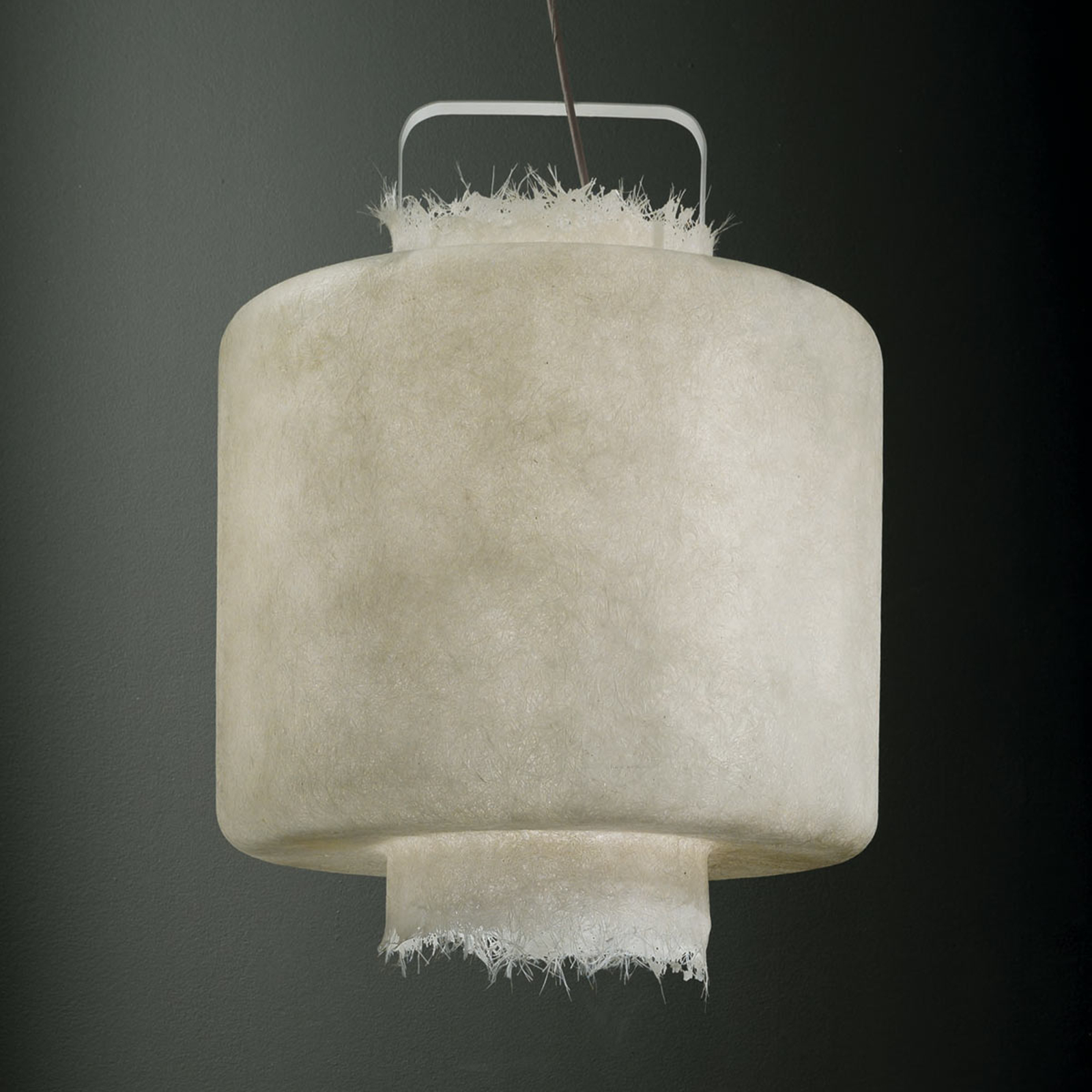 Karman Kimono - hvid LED-hængelampe 50 cm