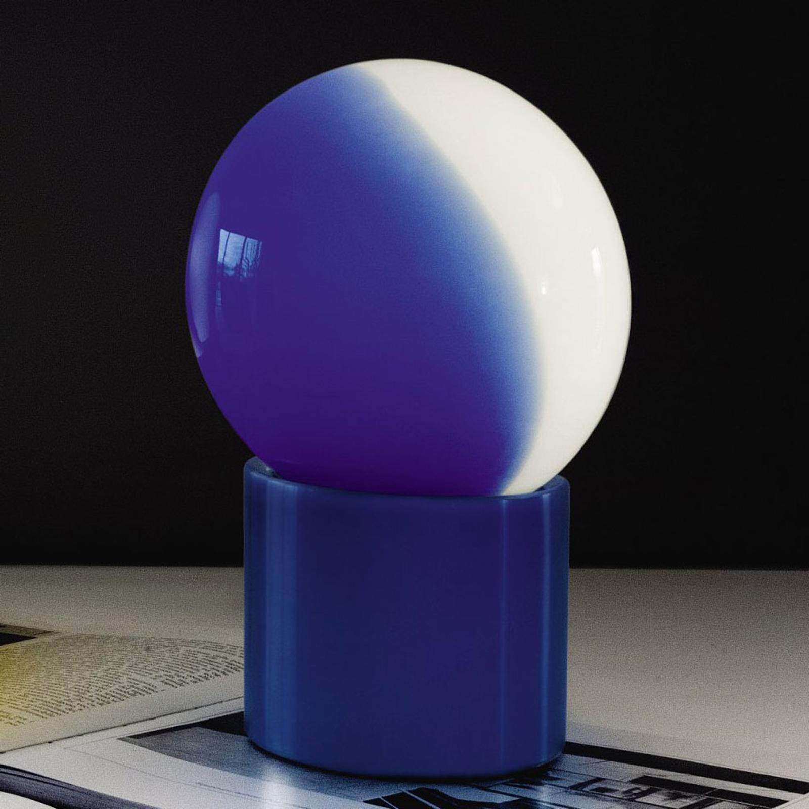 Martinelli Luce Pulce Tischleuchte, blau