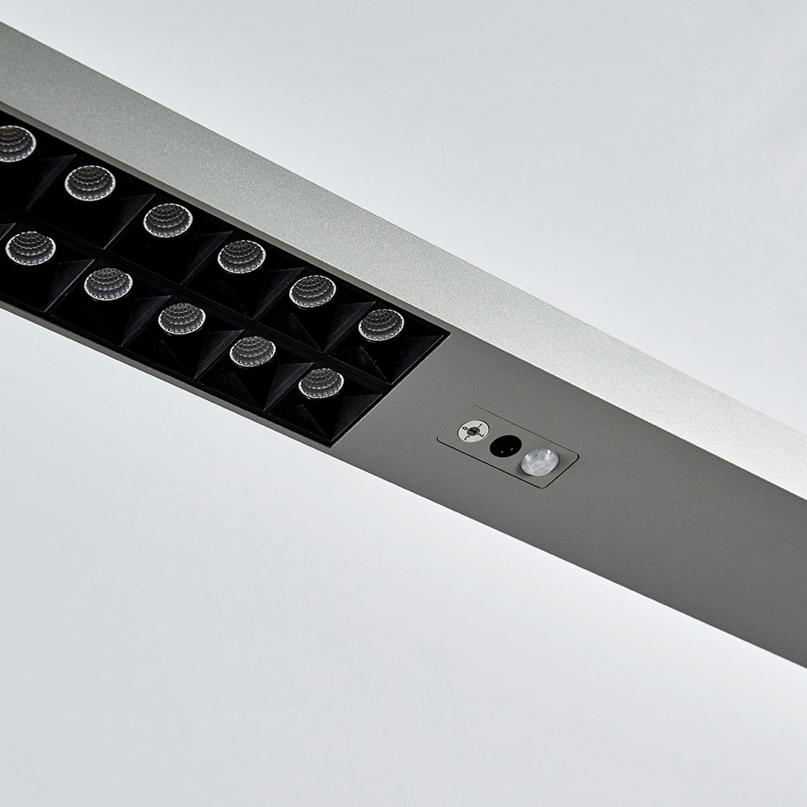 Lampadaire de bureau LED Jolinda, capteur, dimmer