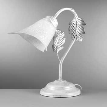 Lámpara de mesa Marilena en estilo florentino