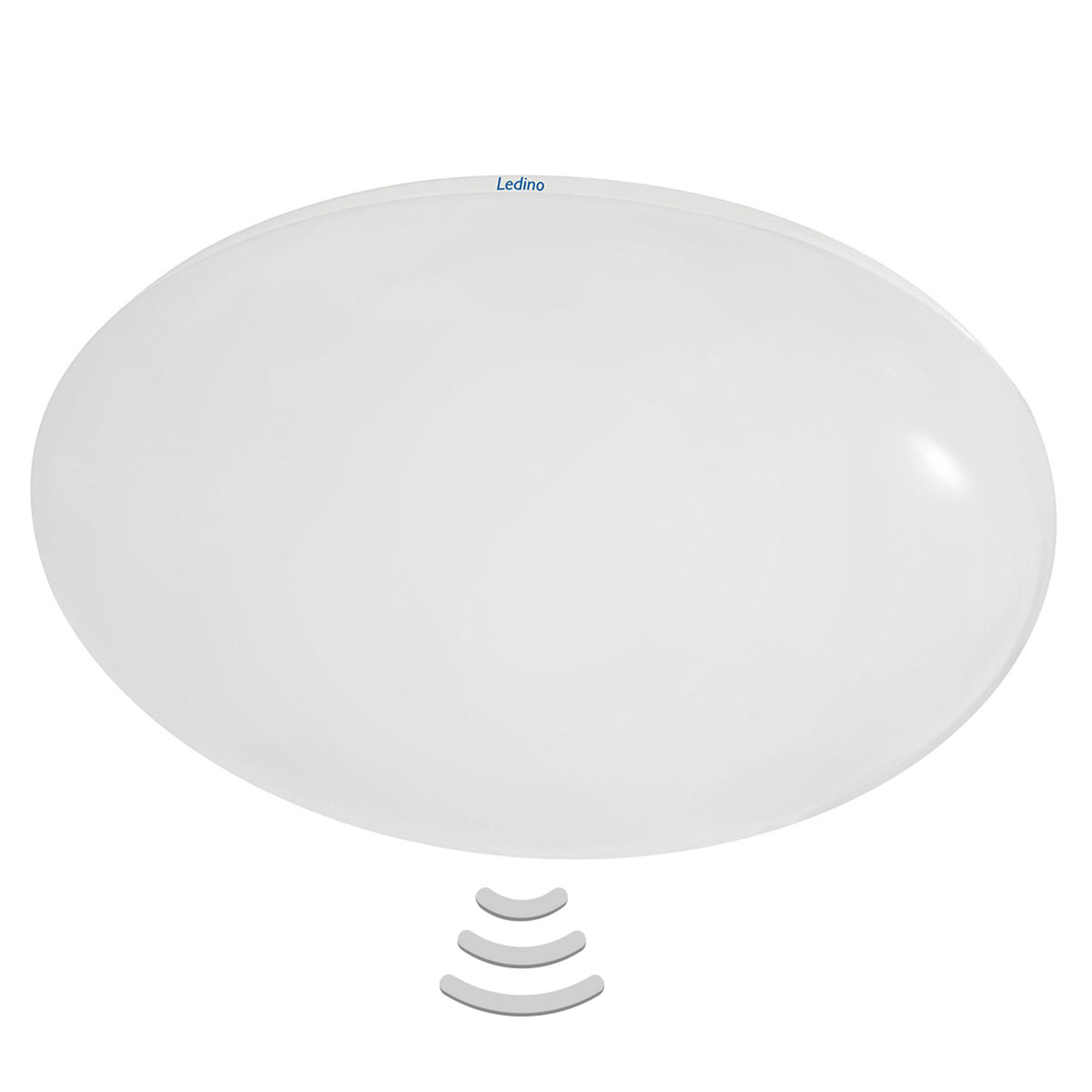 LED plafondlamp Altona m. HF-sensor, 4.000K, 36 cm