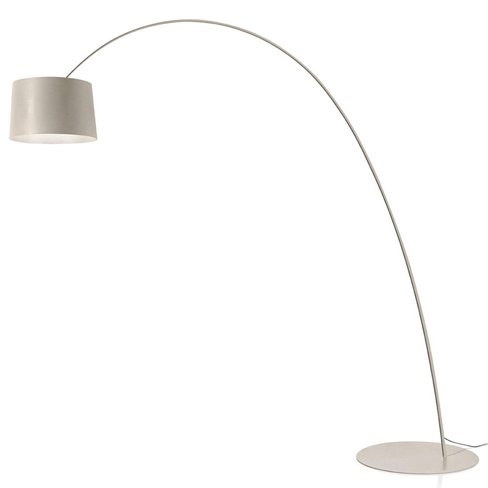 Foscarini Twiggy MyLight LED-golvlampa gråbeige