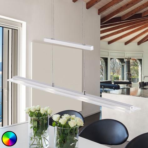 LED-hengelampe Tenso RGBW med fjernkontroll