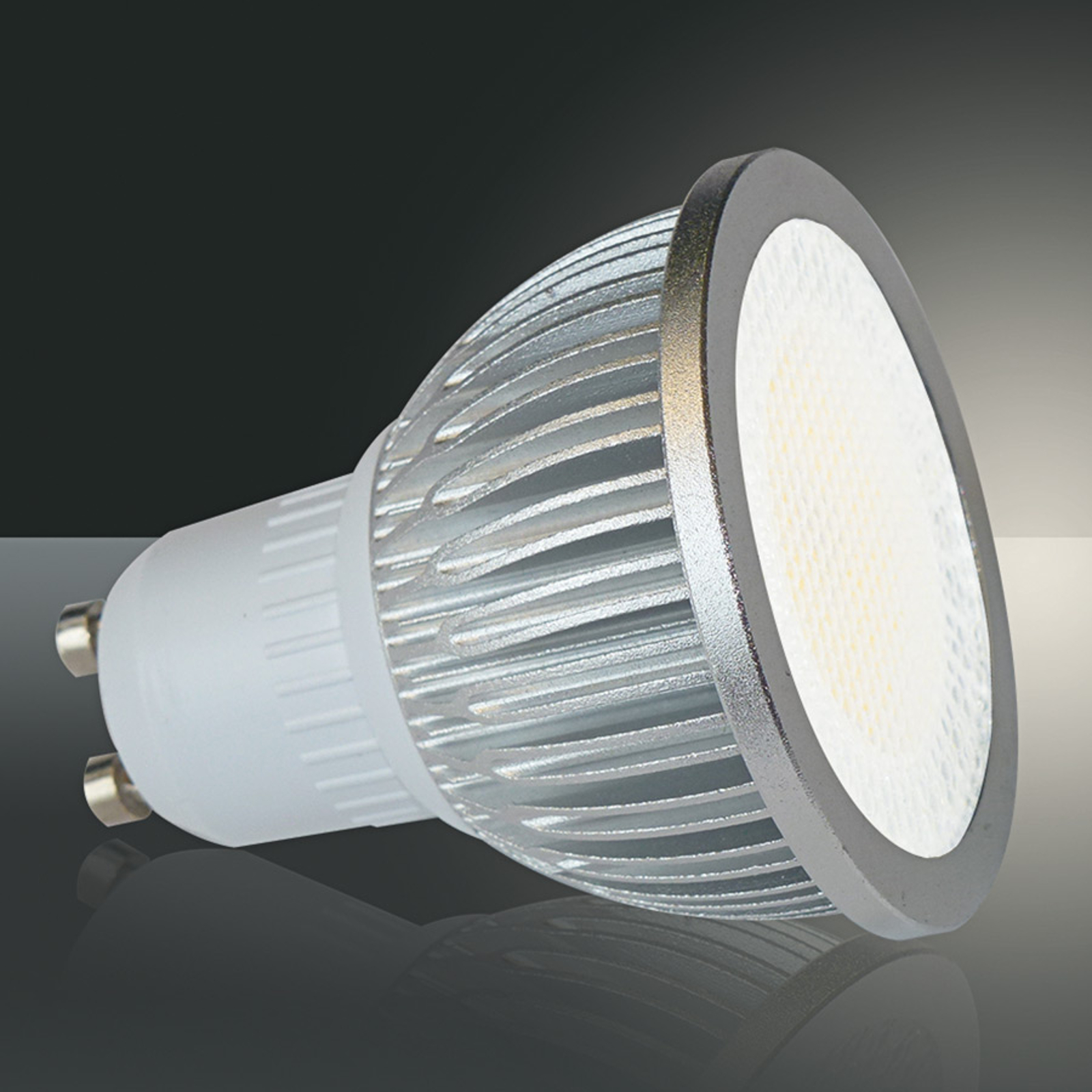 Żarówka reflektorowa LED GU10 5W 829, 90°