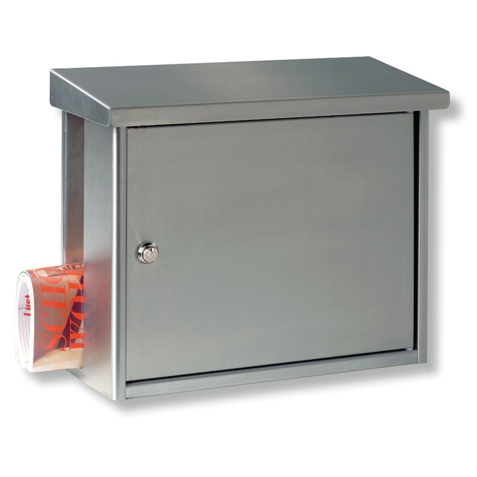 Klassisk HANSEATIC postkasse i rustfrit stål
