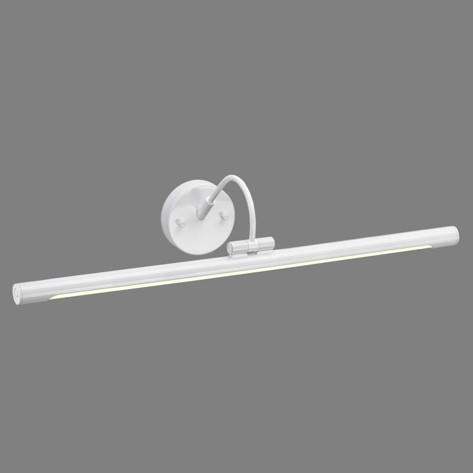 Applique pour tableau LED Alton en blanc, 67 cm