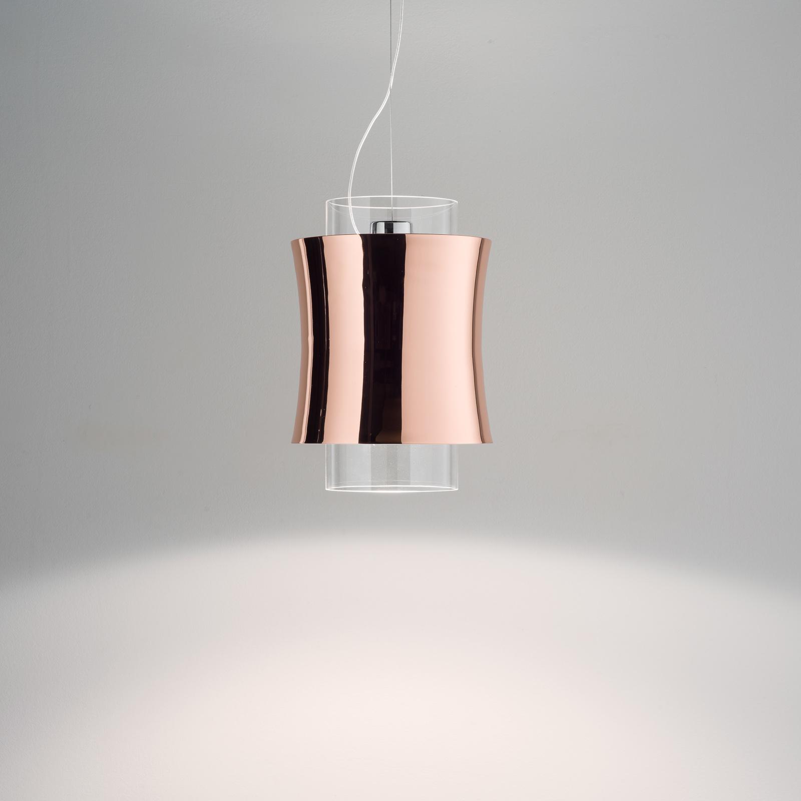 Prandina Fez S1 hanglamp koper gepolijst