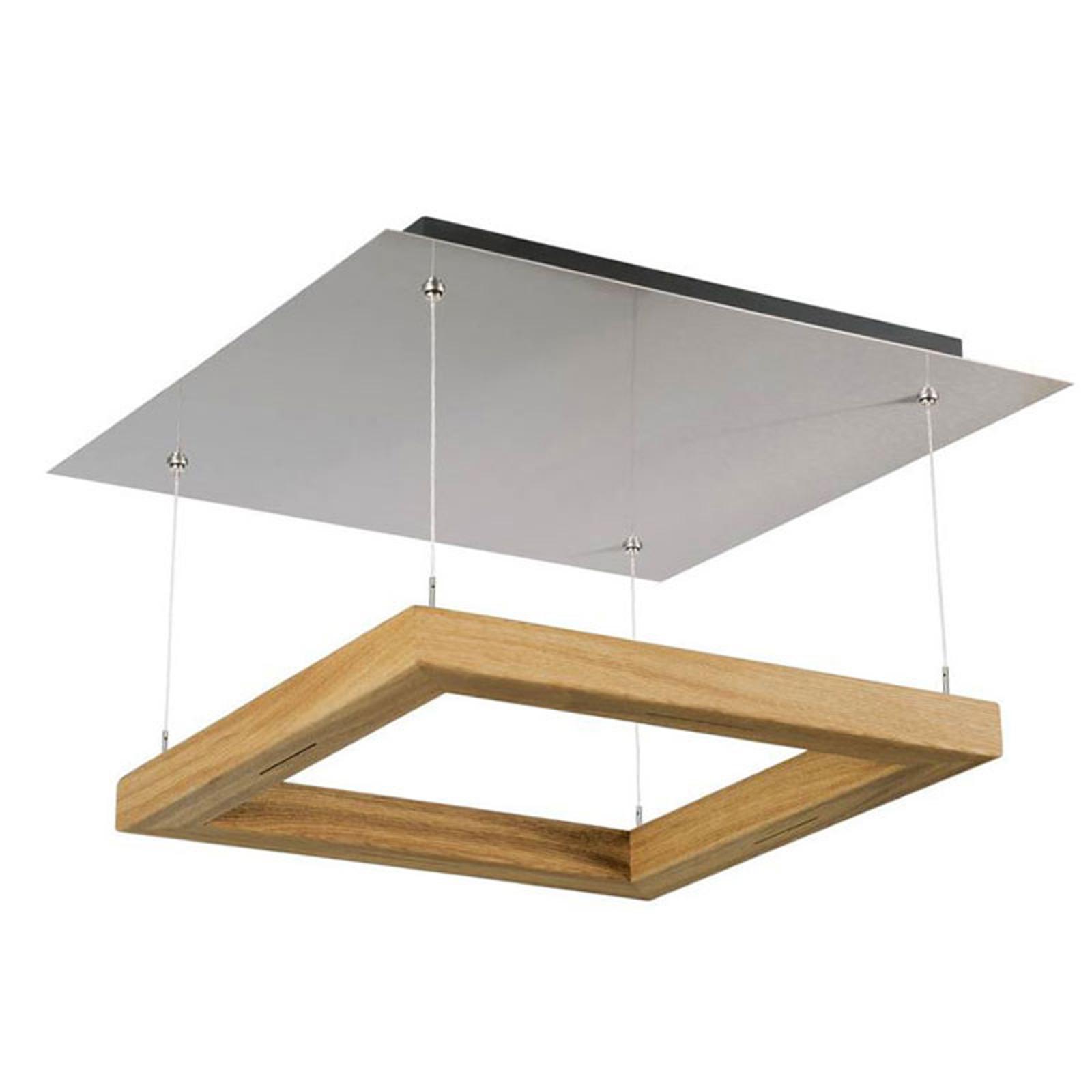 HerzBlut Leonora lampa sufitowa LED dąb oliwiony