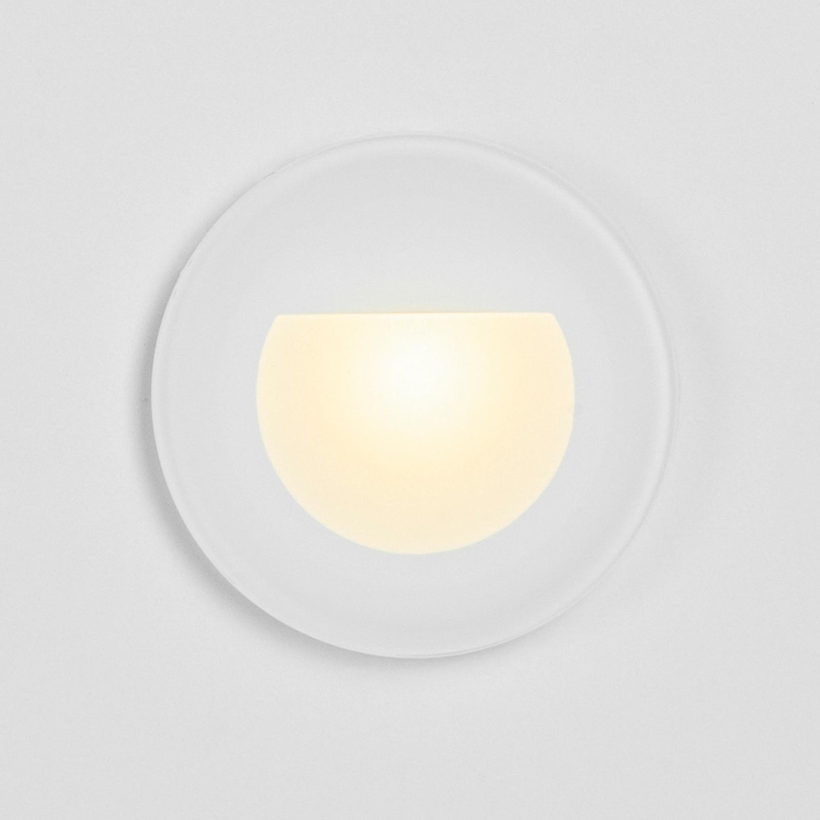 BRUMBERG Wall Kit68 Einbaulampe flach rund weiß