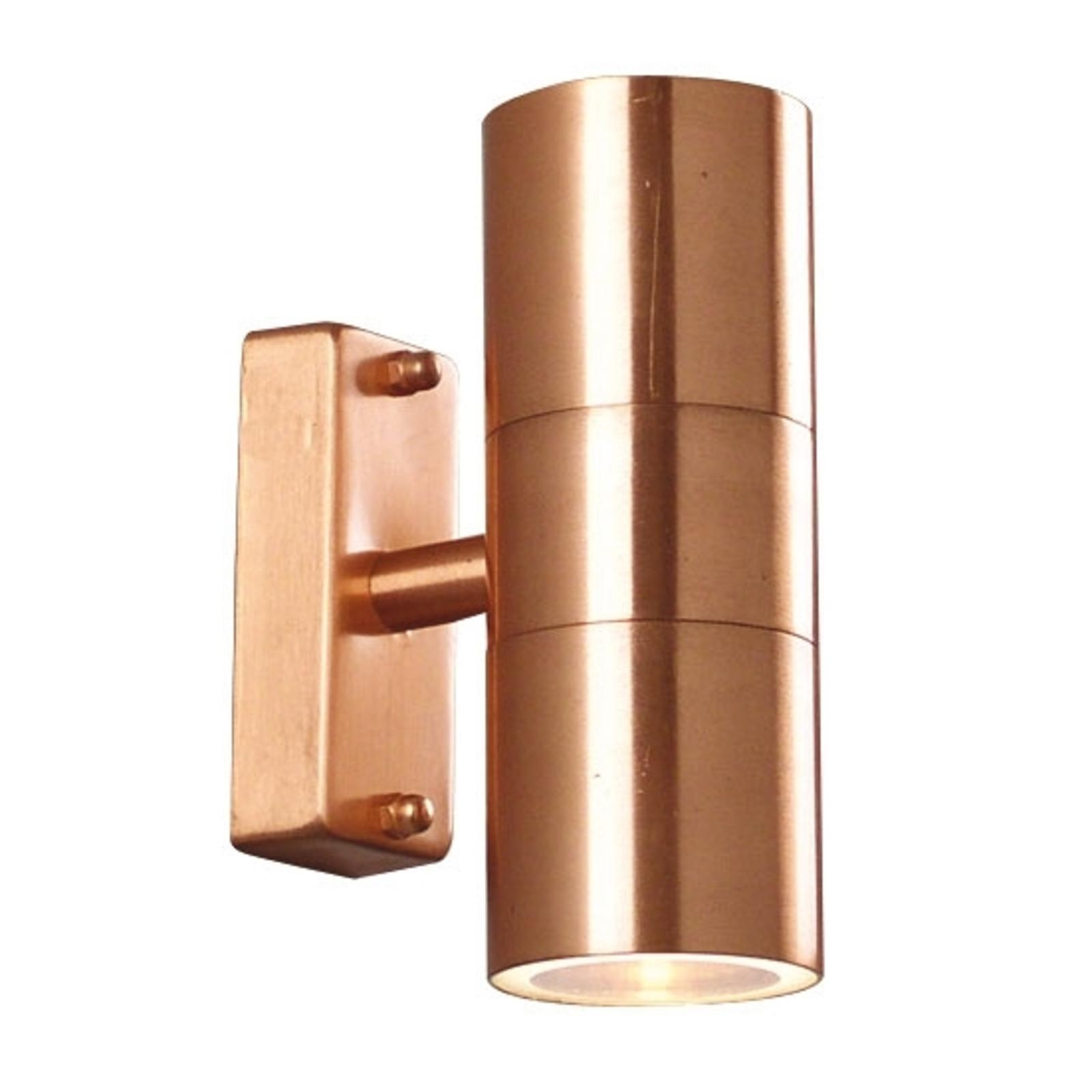 Tin Double Außenwandleuchte aus Kupfer