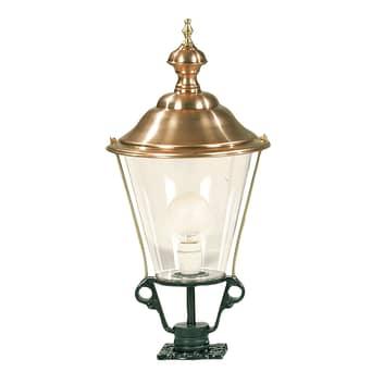 Sokkellamp K3b met koperen deksel