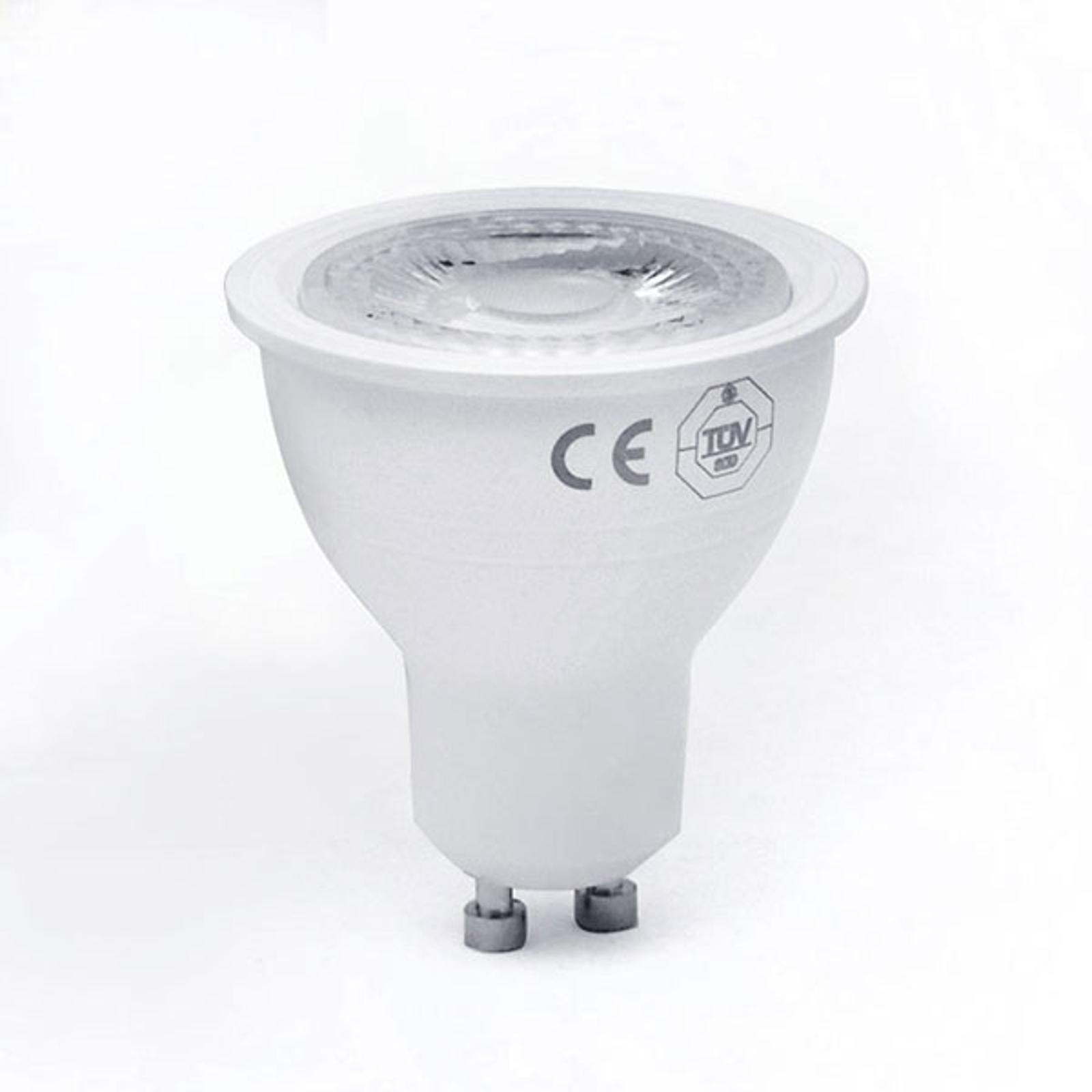 Reflector LED GU10 3,5W 3000K no atenuable