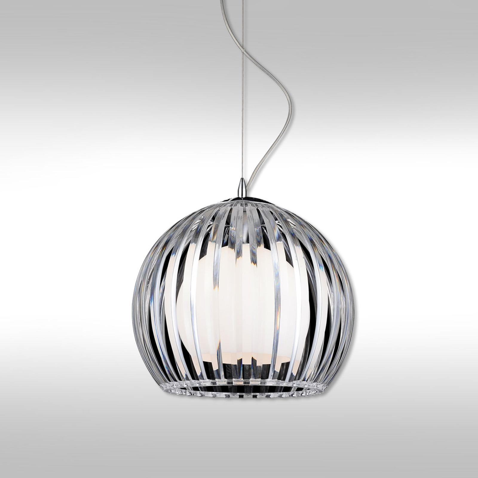 Transparante hanglamp Mandina - 20 cm