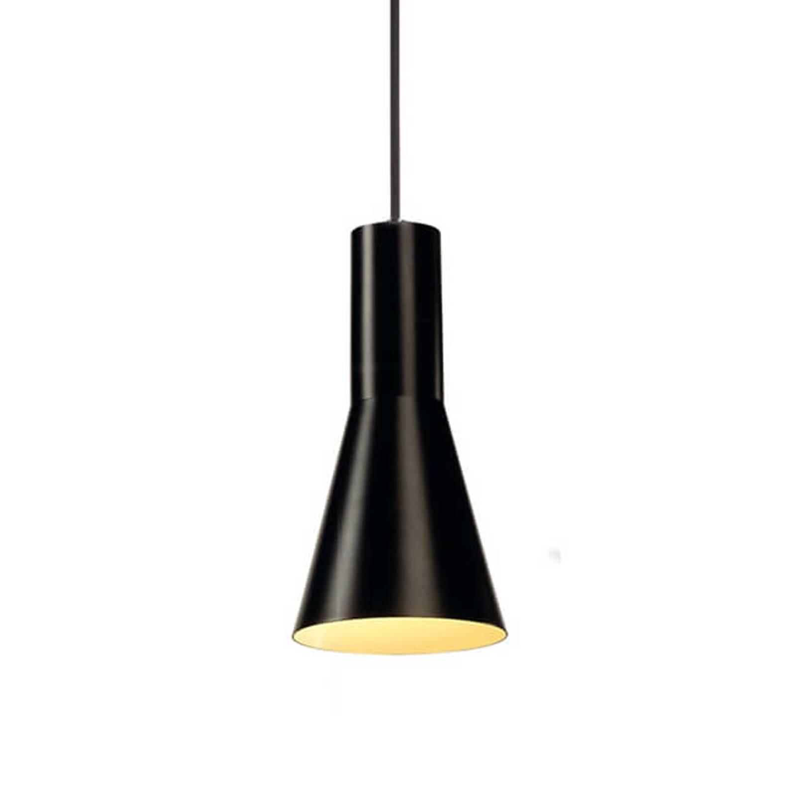SLV Phelia lampa wisząca czarna 13 cm