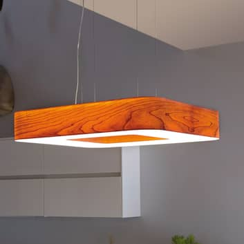 LZF Cuad LED-hængelampe 0-10 V dæmpes, træfiner