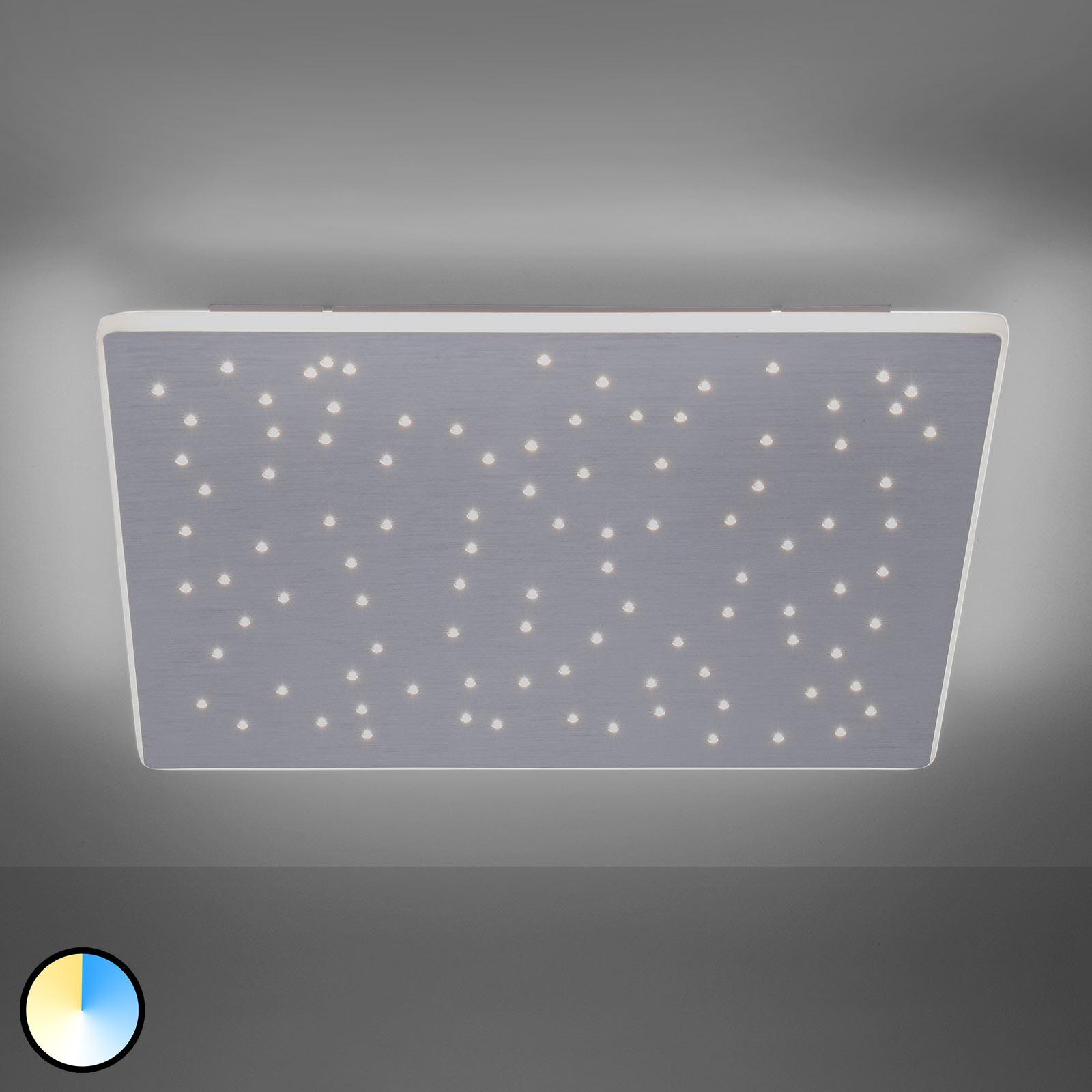Paul Neuhaus Q-NIGHTSKY, LED plafondlamp, 60x60cm