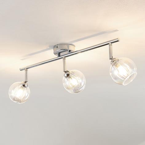 Lindby Pranas LED -kattovalaisin, 3-lamppuinen