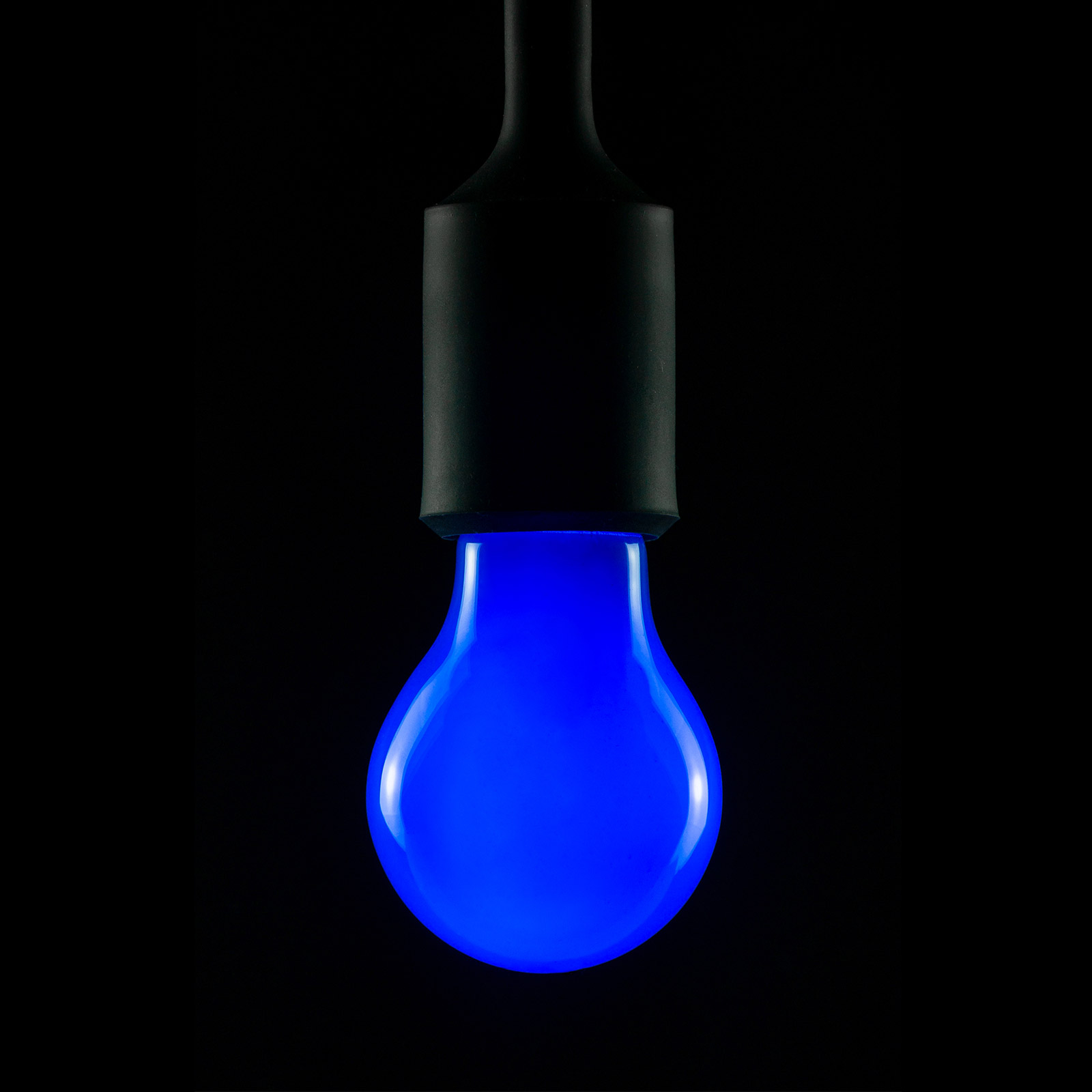 Lampadina LED E27 2W blu dimmerabile