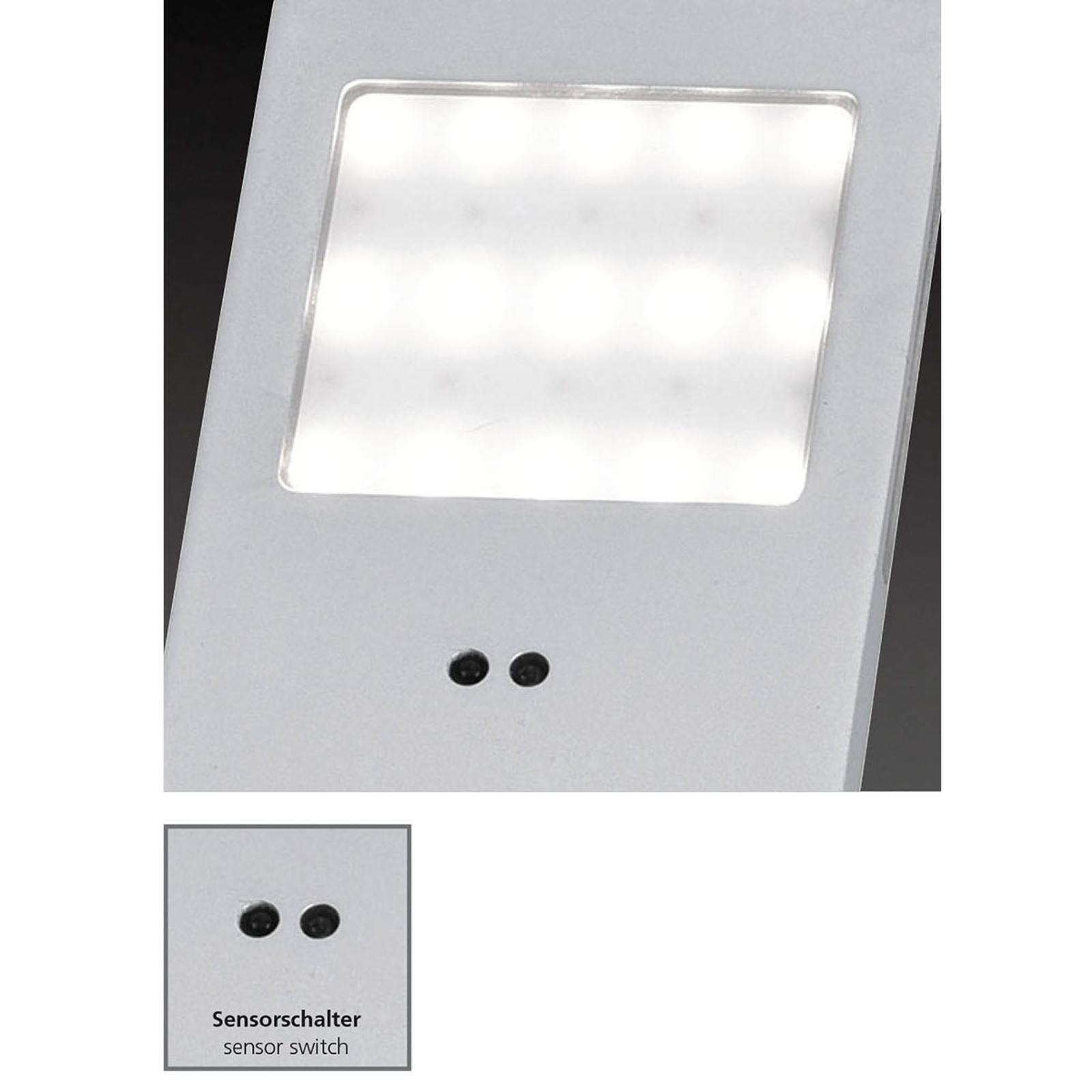 Sensorbänklampa Helena 19 x 5 cm 3-pack 3000K