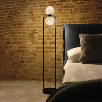 Tribeca-LED-lattiaval., alabasteria, 2-lamppuinen