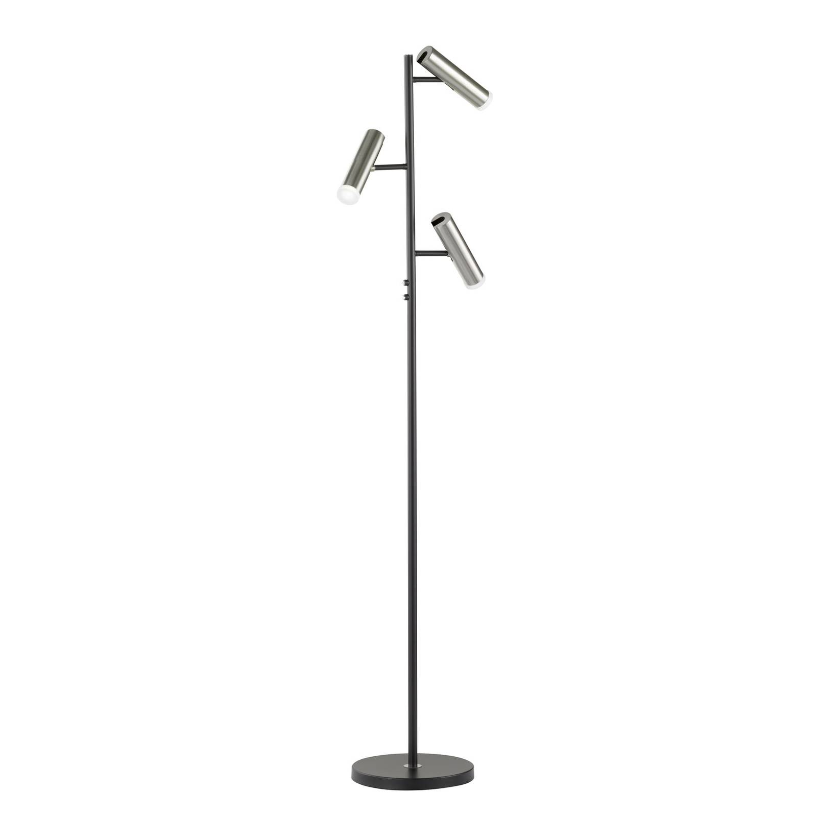 Lampadaire LED Z-Ronja 3 lampes, compatible ZigBee