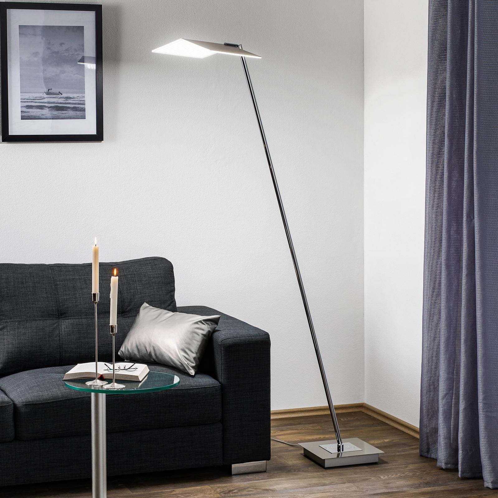 BANKAMP Book LED-golvlampa med touchdimmer