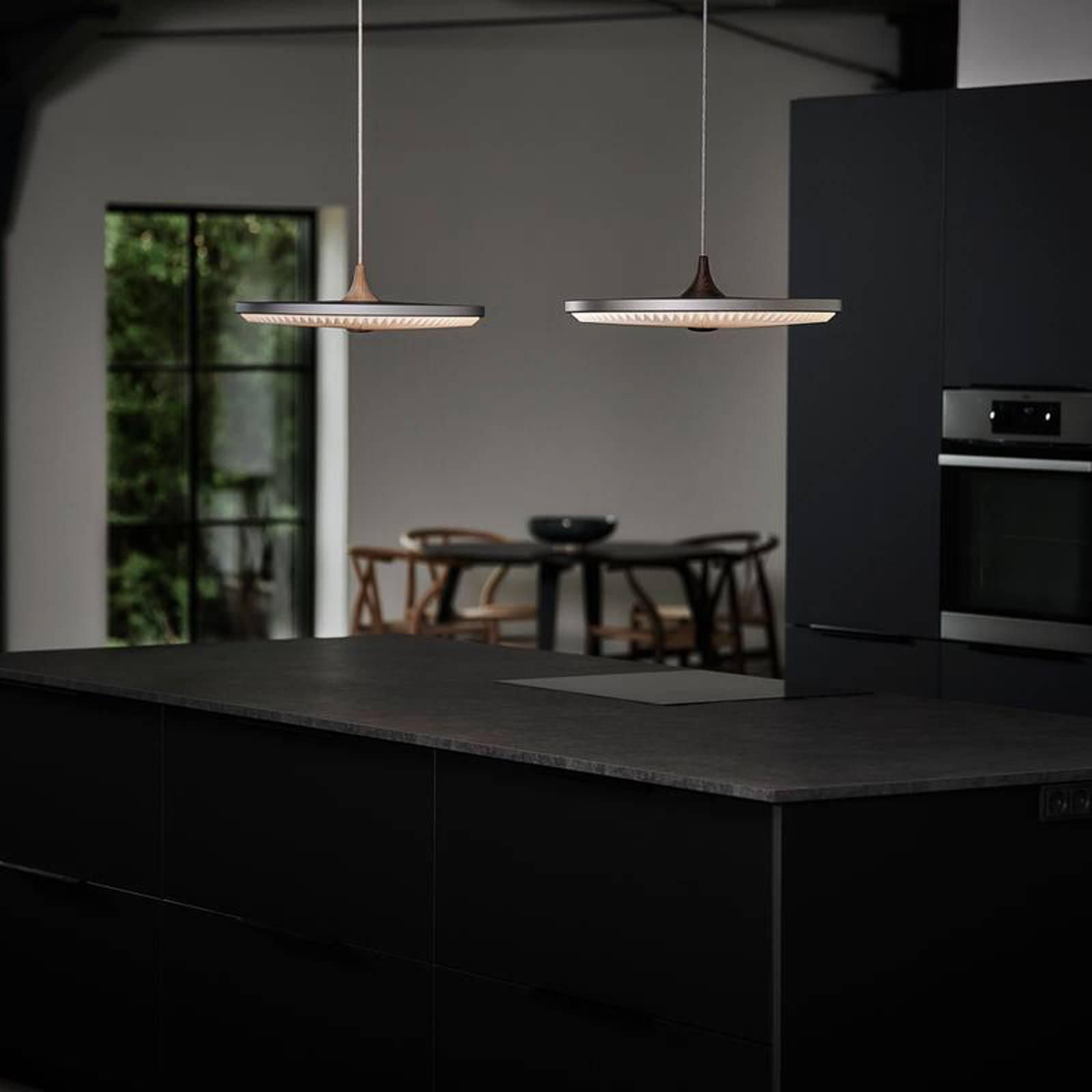 LE KLINT Soleil hanglamp donkergrijs Ø50cm dimbaar
