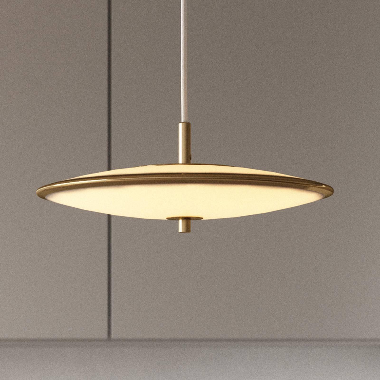LED-Hängeleuchte Blanche, dimmbar, Ø 32 cm
