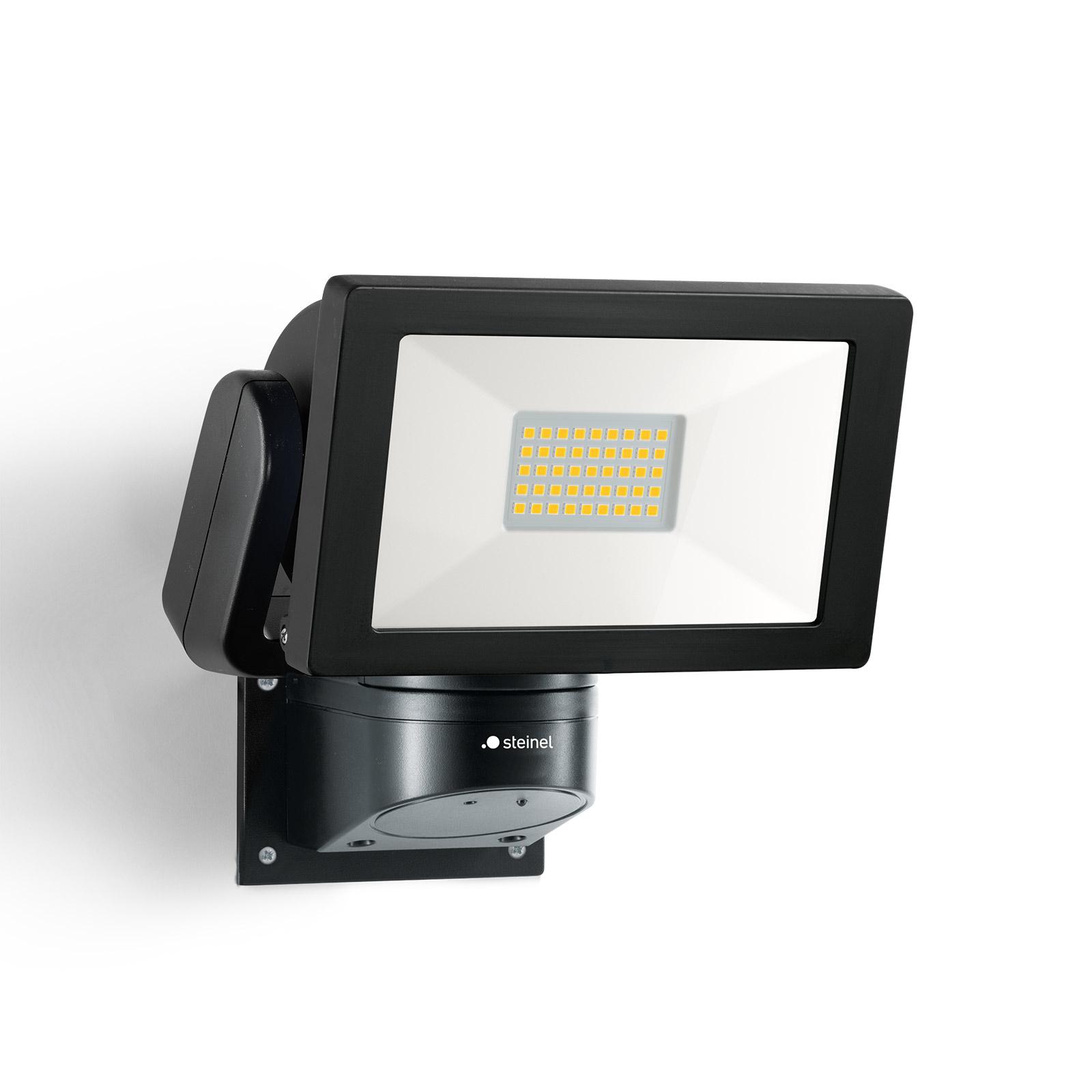 STEINEL LS 300 M LED-Außenstrahler, schwarz