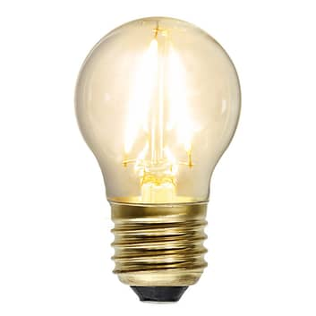 LED-Lampe E27 1,5W Soft Glow 2.100K klar