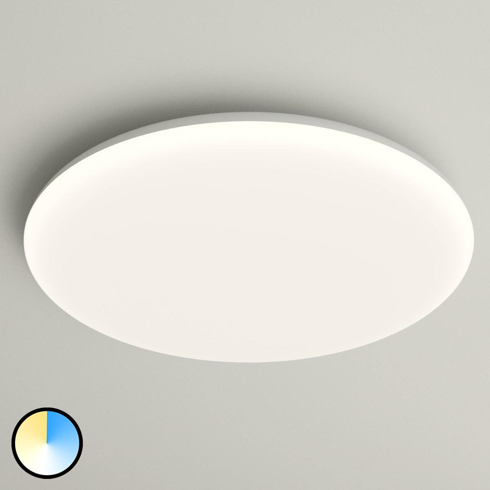Lampa sufitowa LED Azra biała okrągła IP54 Ø 40 cm