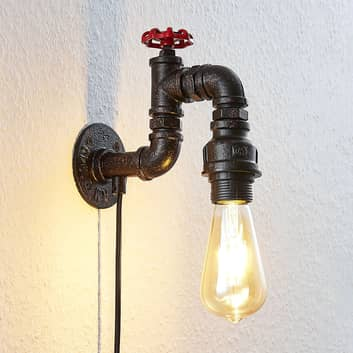 Lámpara de pared Josip, 1 brazo