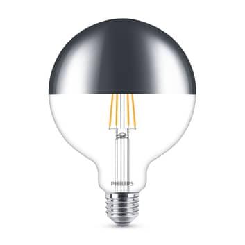 Philips LED bollamp E27 G120 7,2W kopspiegel