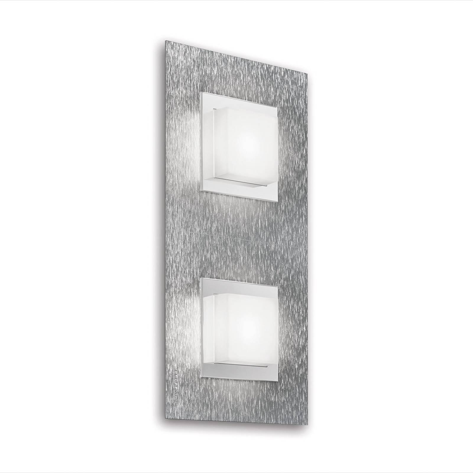 GROSSMANN Basic applique LED 2 lampes, aluminium