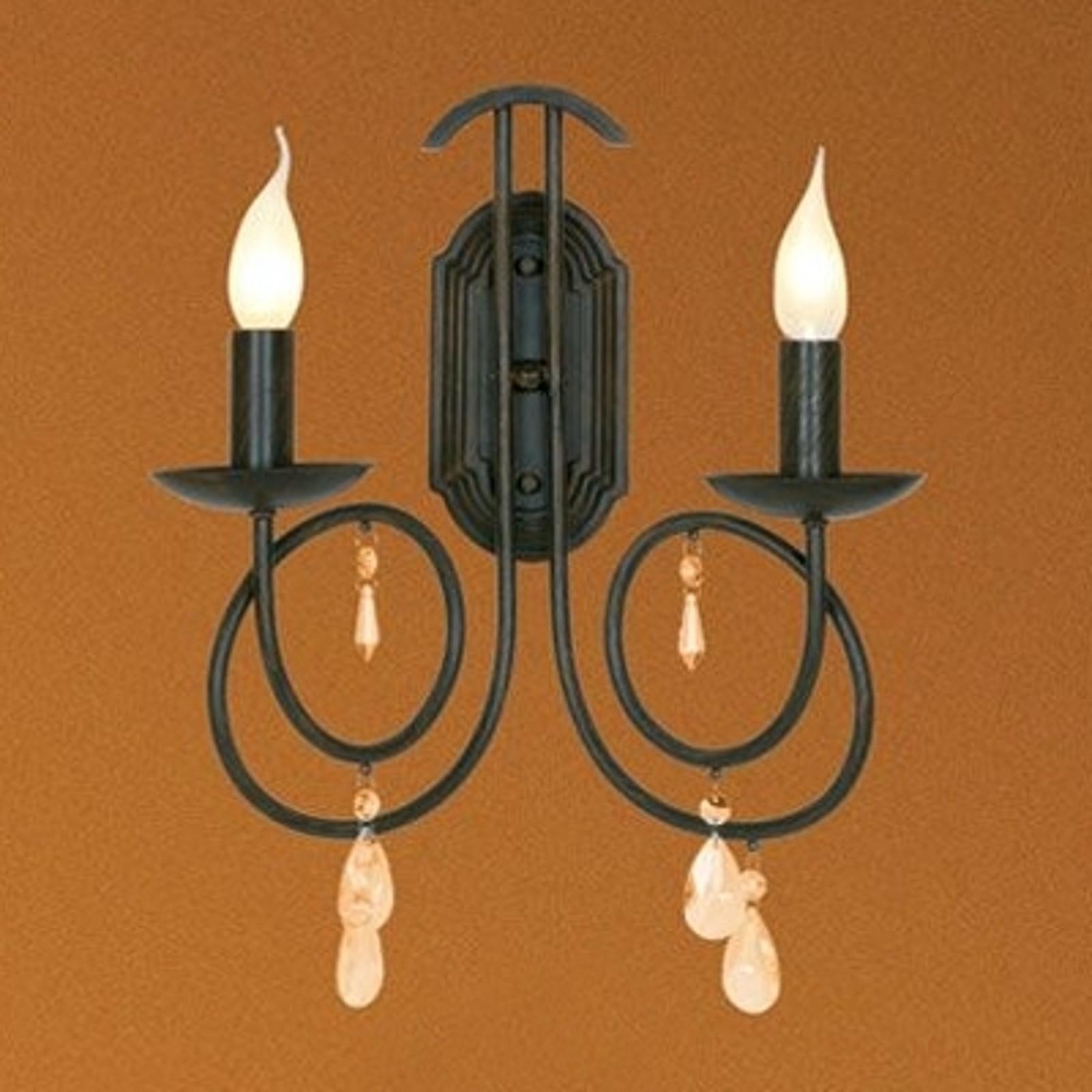 Delikatna lampa ścienna LISANNE