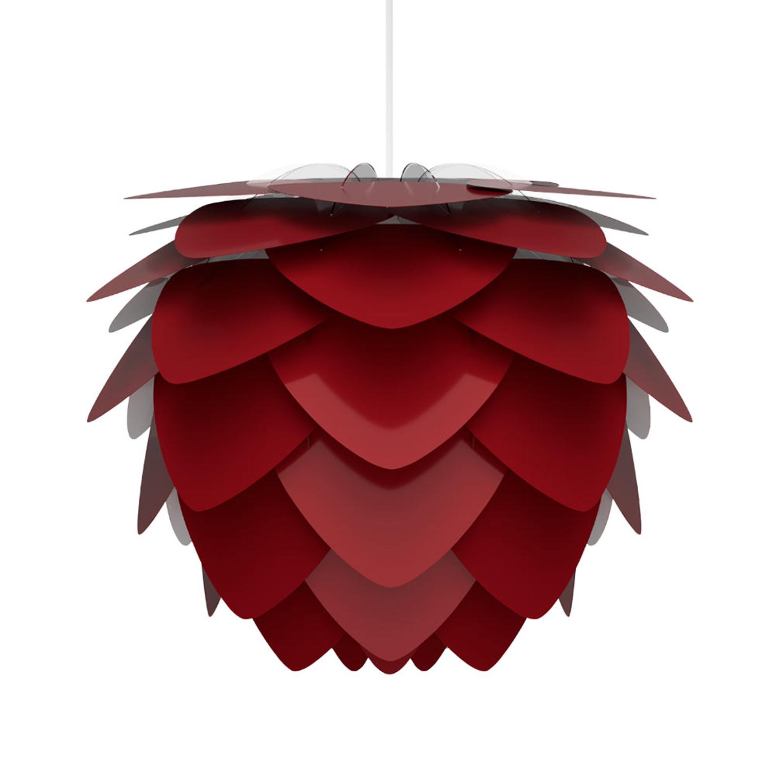 UMAGE Aluvia mini lampa wisząca rubinowa czerwień