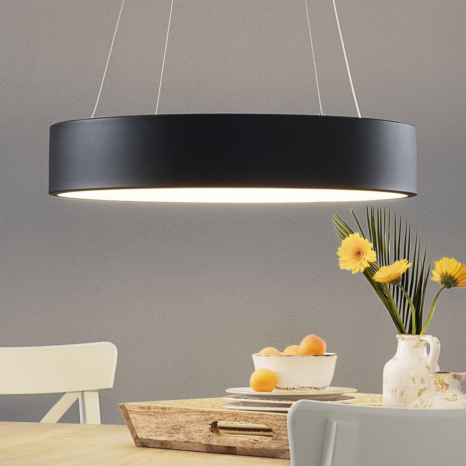 Suspension LED Pure Ø 60cm noire