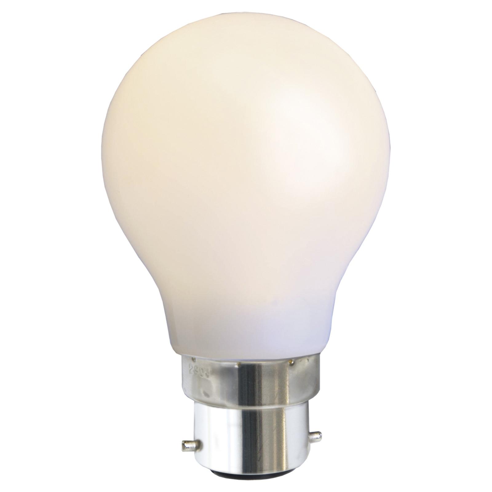 B22 1W LED-Lampe, weiß