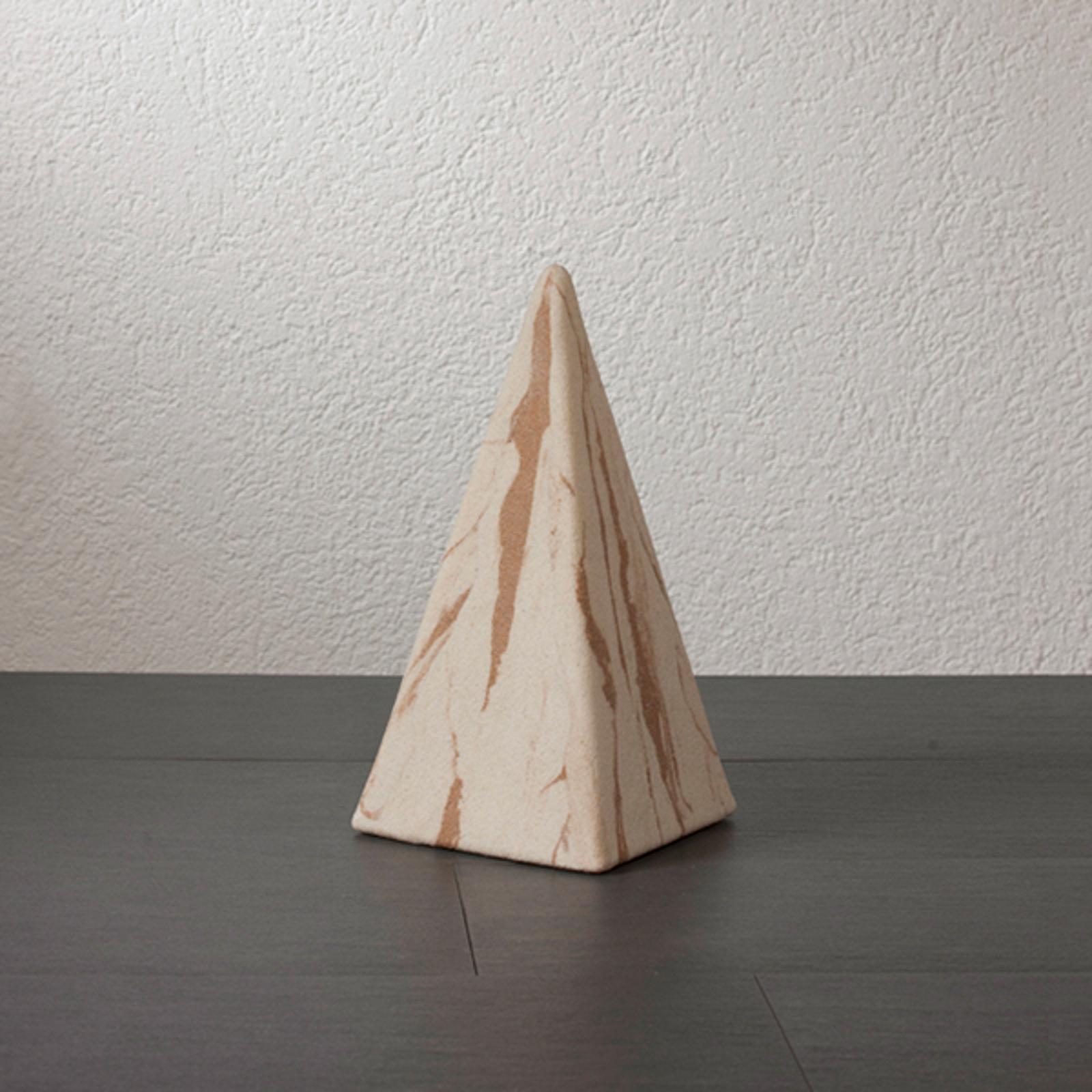 Pyramide Sahara 36cm ac câble en caoutchouc