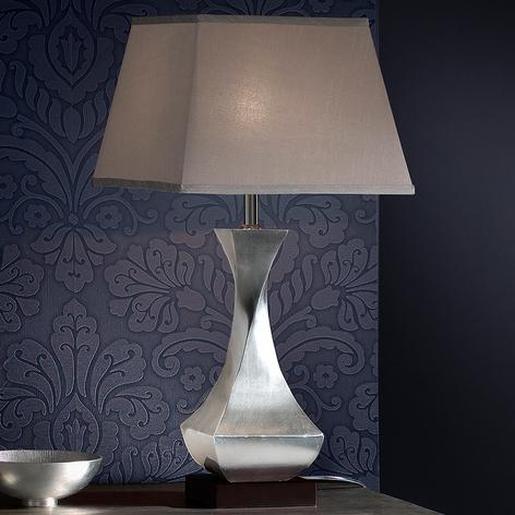 Lampe à poser LED Deco à pied torsadé