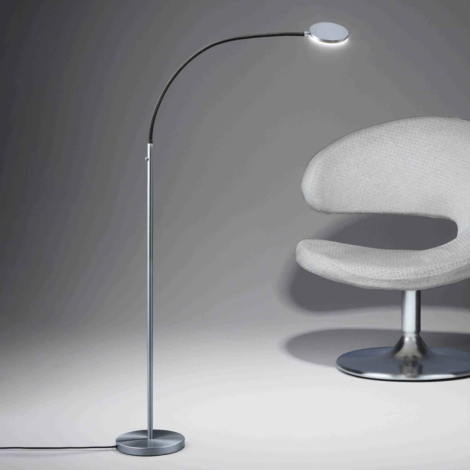 Holtkötter Flex S lampa stojąca LED matowa/czarna