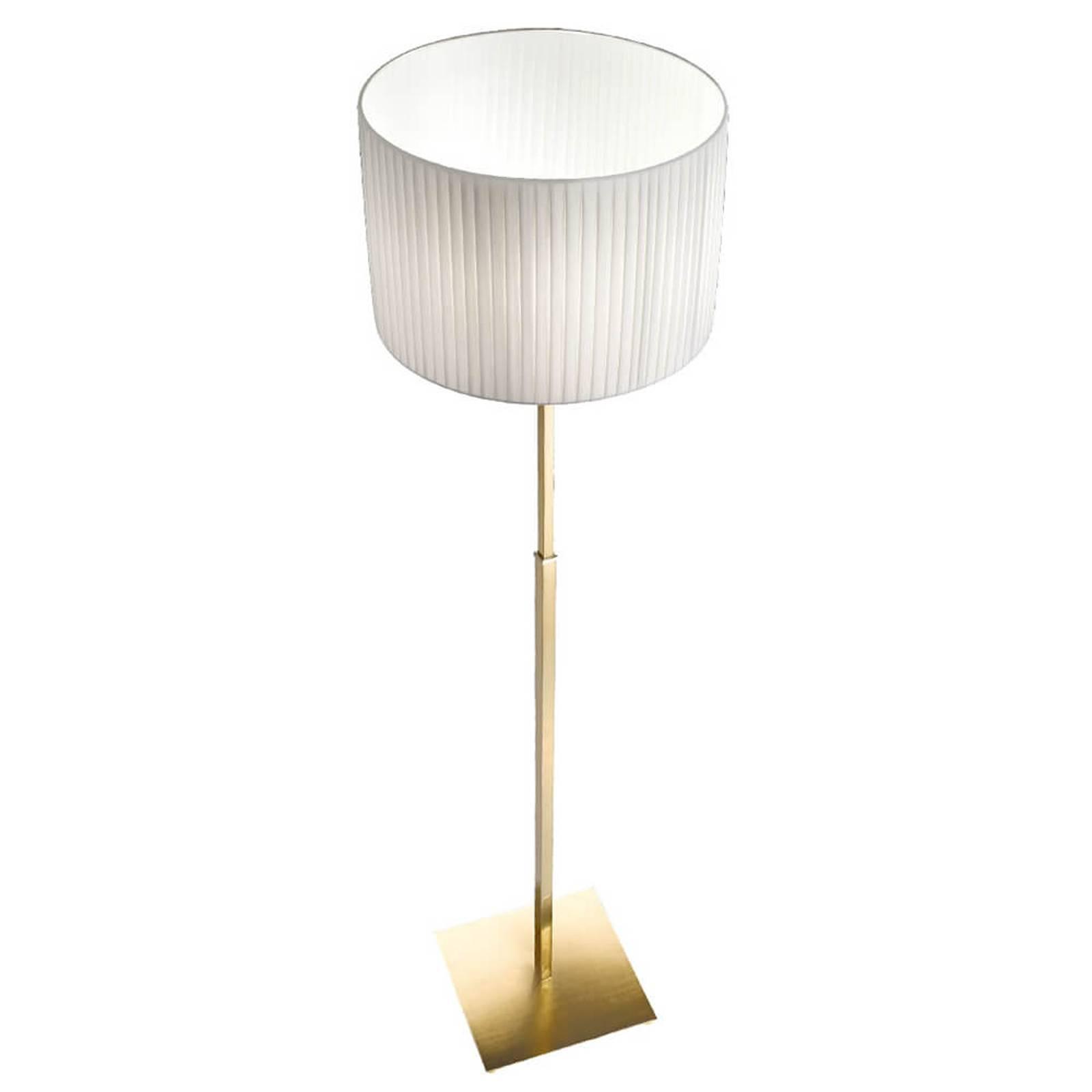 Lampa stojąca Sand z mosiężną ramą